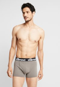 Ellesse - PARMO FASHION TRUNKS 2 PACK - Pants - black/charcoal - 1