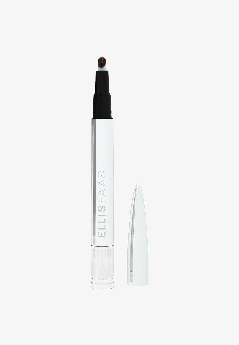 ELLIS FAAS - GLAZED LIPS - Flydende læbestift - sheer dark brown
