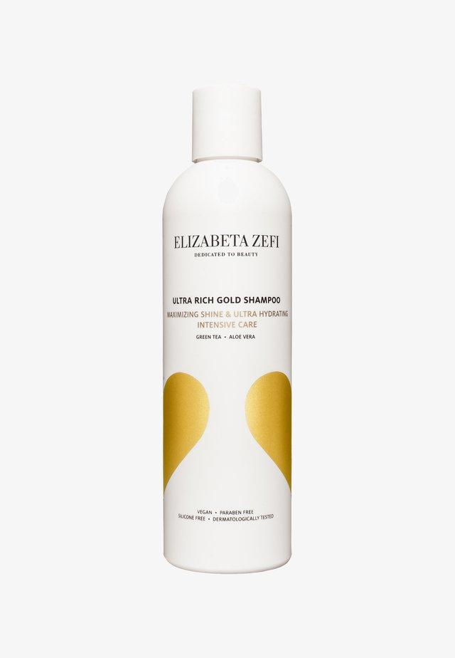 ULTRA RICH GOLD SHAMPOO 250ML - Shampoo - -