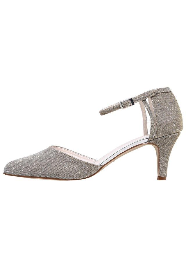 RAINBOW CLUB - Classic heels - gold