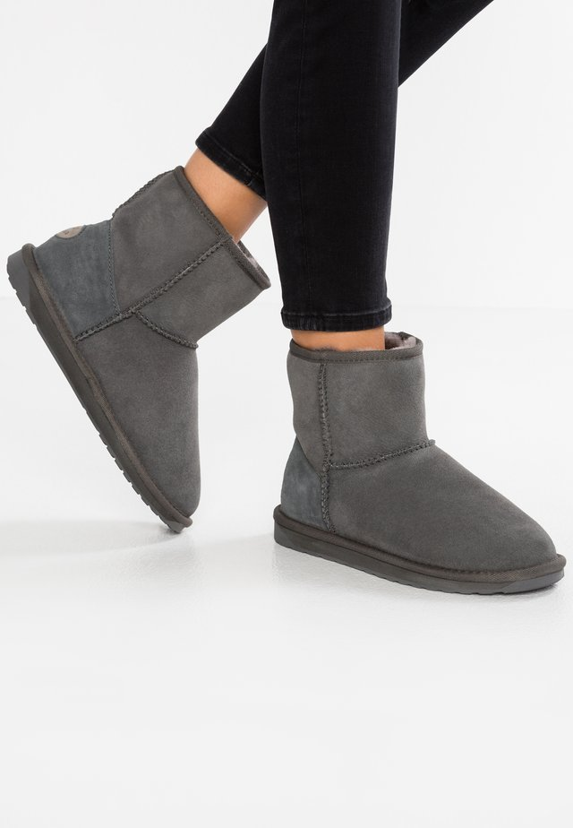 STINGER MINI - Classic ankle boots - charcoal