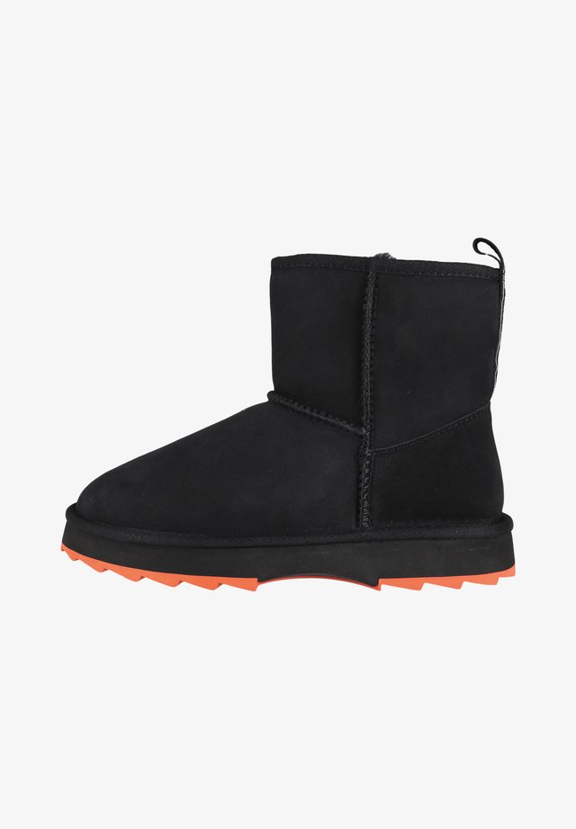 Classic ankle boots - black/crimson