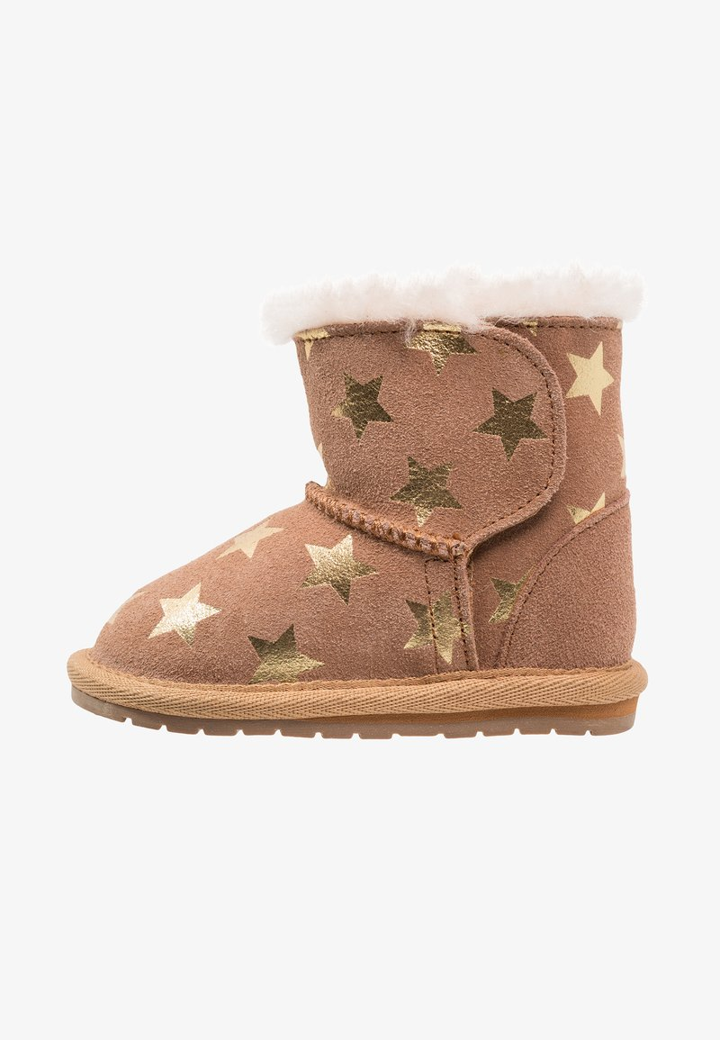 EMU Australia - TODDLE STARRY NIGHT - Chaussures premiers pas - chestnut