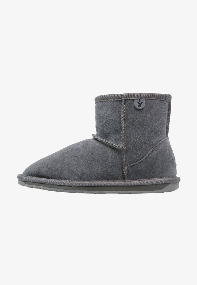 WALLABY - Classic ankle boots - charcoal