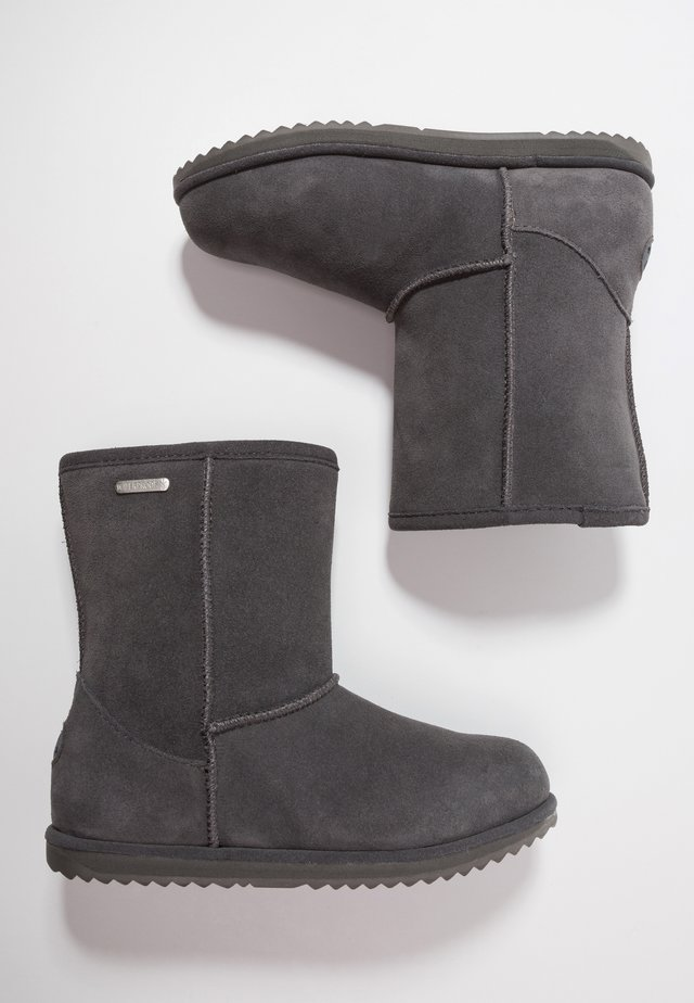 BRUMBY  - Winter boots - charcoal