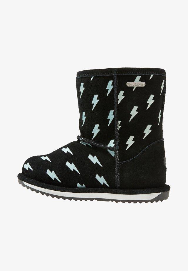 LIGHTNING BOLT BRUMBY - Snowboot/Winterstiefel - black