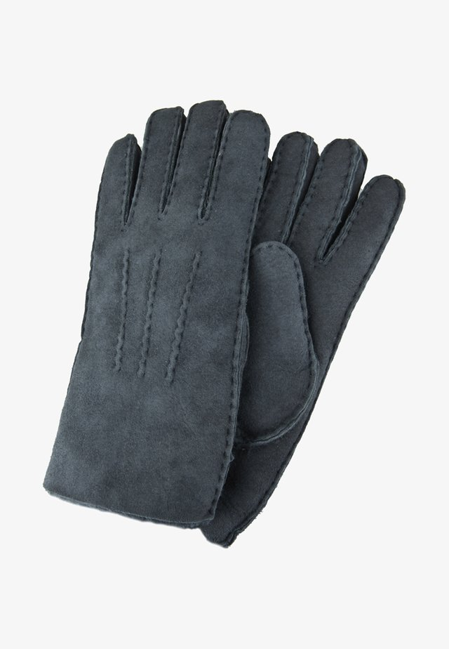 Gloves - dark grey