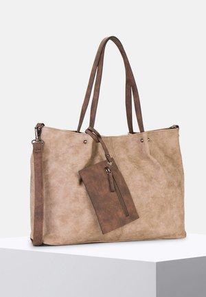 BAG IN BAG SURPRISE - Shopping Bag - taupe