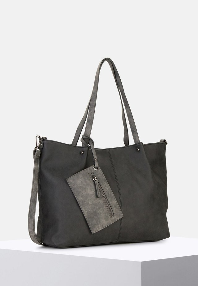 BAG IN BAG SURPRISE - Cabas - black/grey