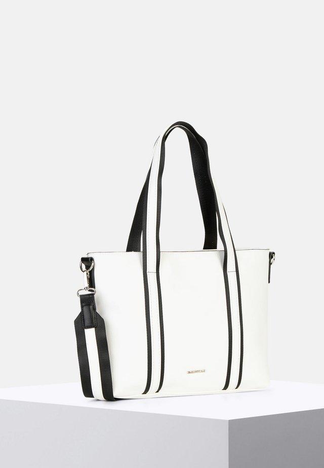 LUNA - Shopping Bag - white