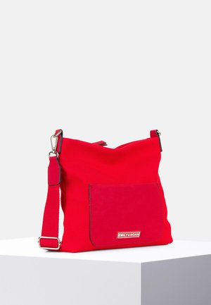 LENA - Across body bag - red