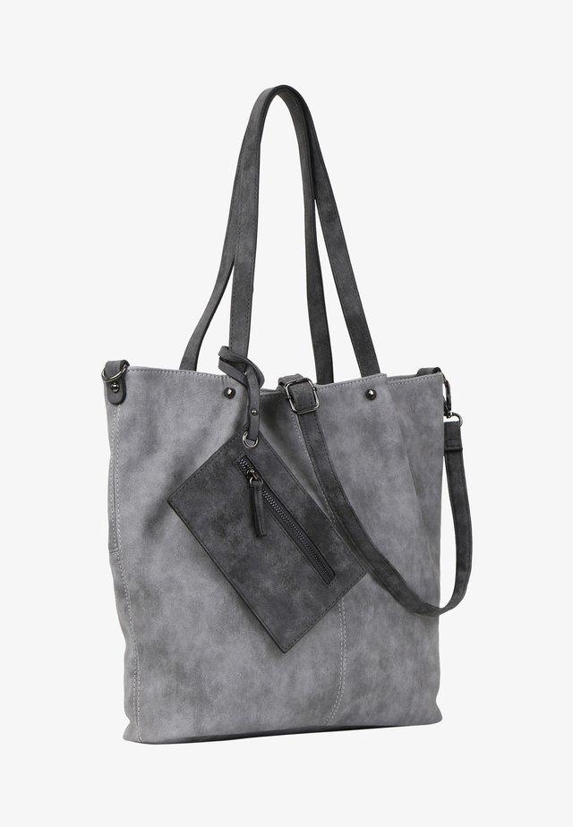 SURPRISE - Tote bag - grey/darkgrey