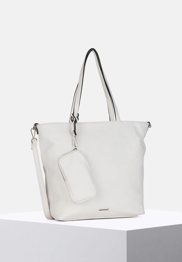 SURPRISE - Shopper - white