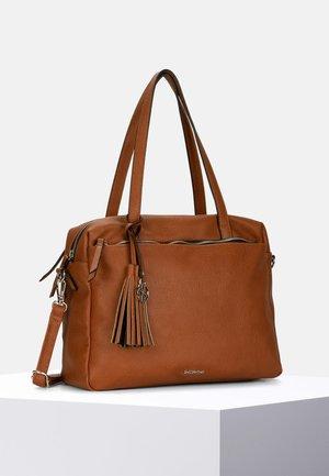 LEONIE - Handbag - cognac