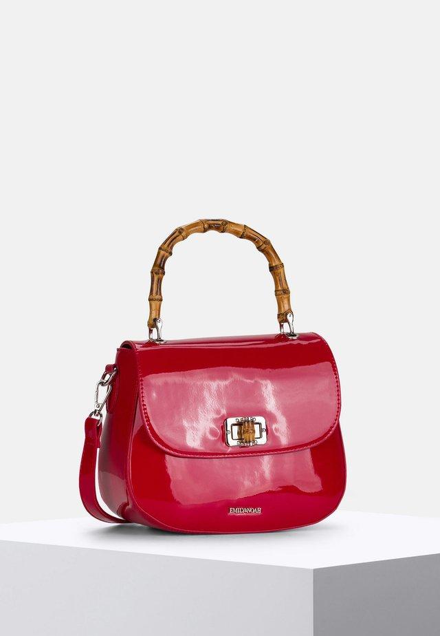 LEXA - Handbag - red lack