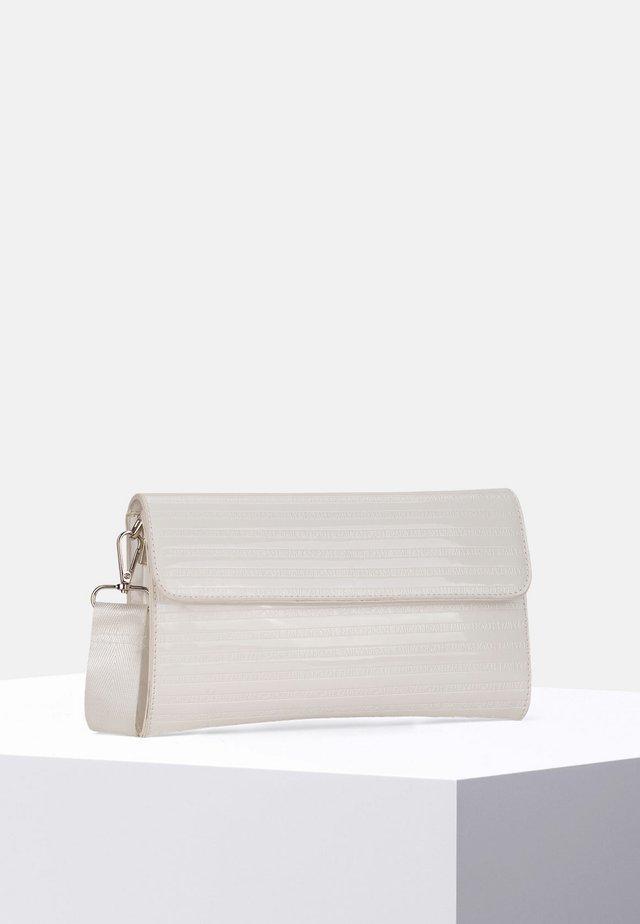 LESLIE - Clutch - white