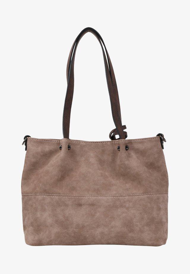 SURPRISE - Shopping Bag - taupe brown