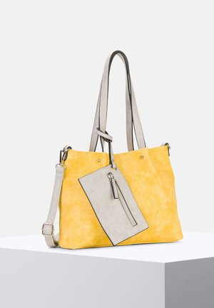 Shopper - yellow/grey