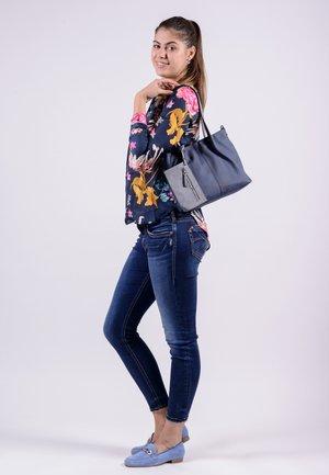 SURPRISE - Shopping Bag - blue/grey