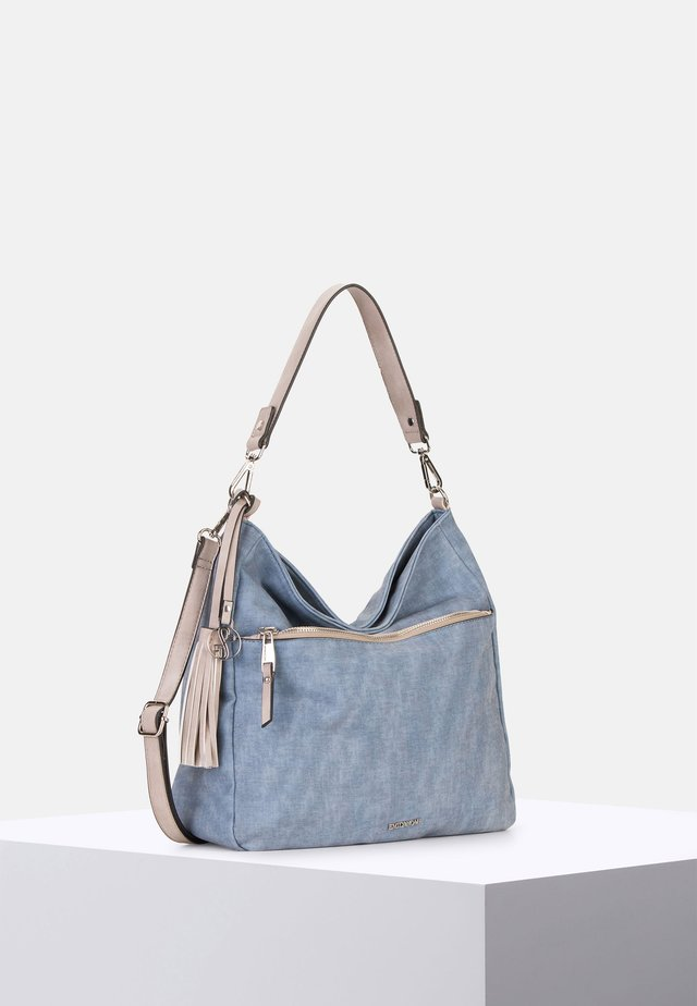 LAURA - Handbag - blue