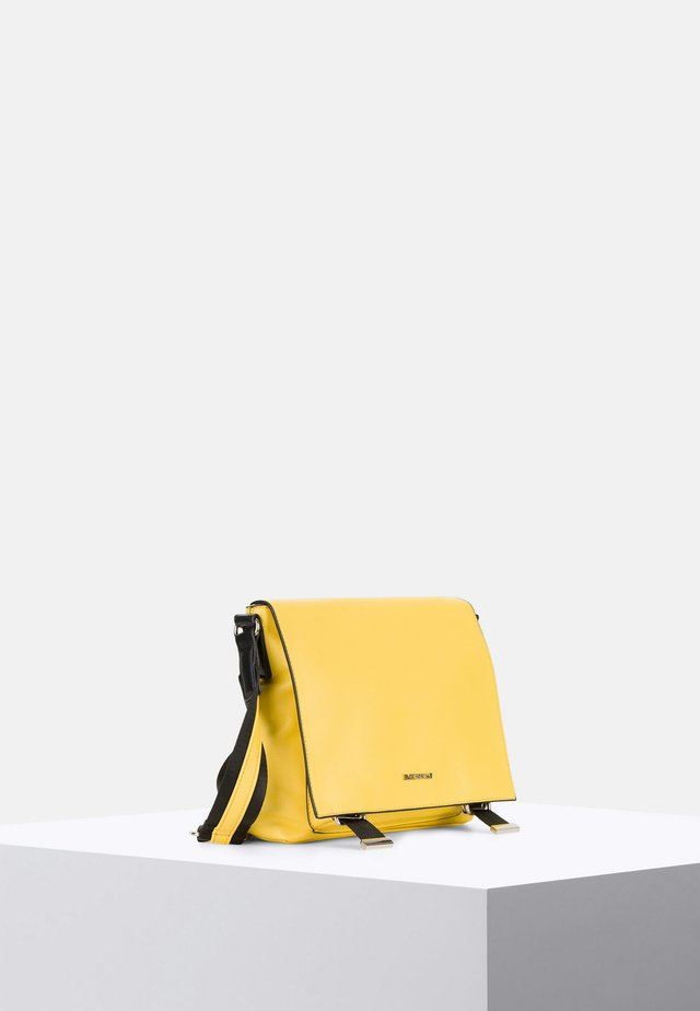 LUNA - Across body bag - yellow