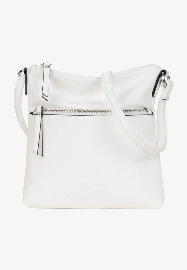EMMA - Across body bag - white