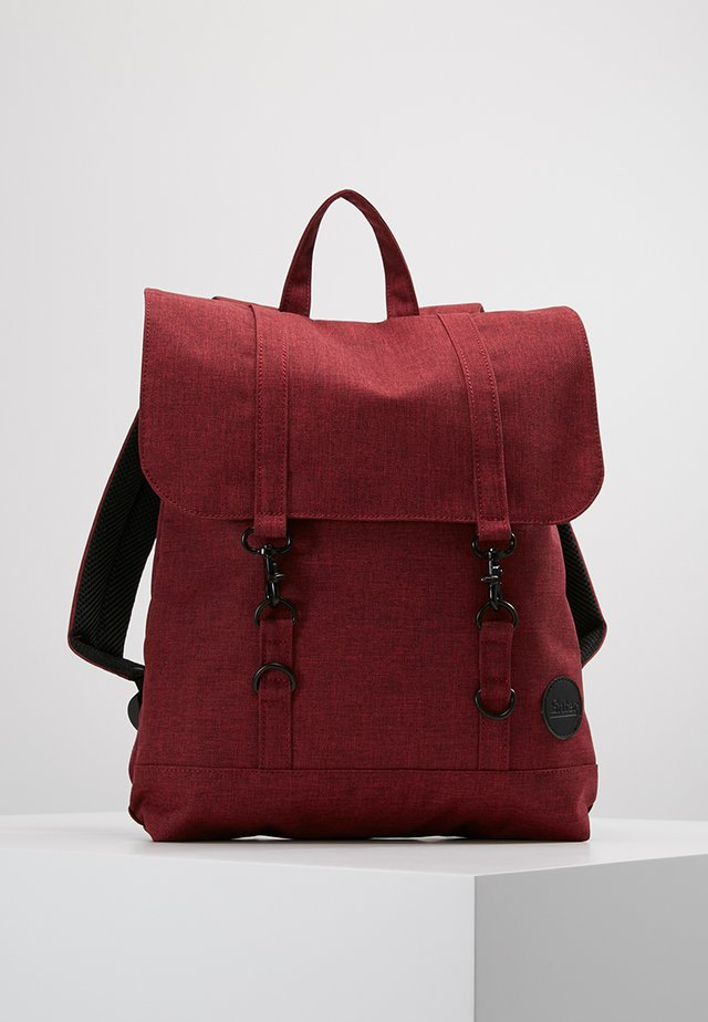 CITY BACKPACK MINI - Rucksack - wine red