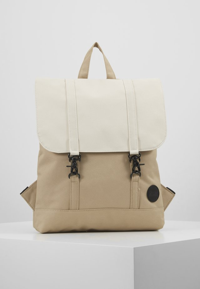 CITY BACKPACK MINI - Rucksack - khaki/natural