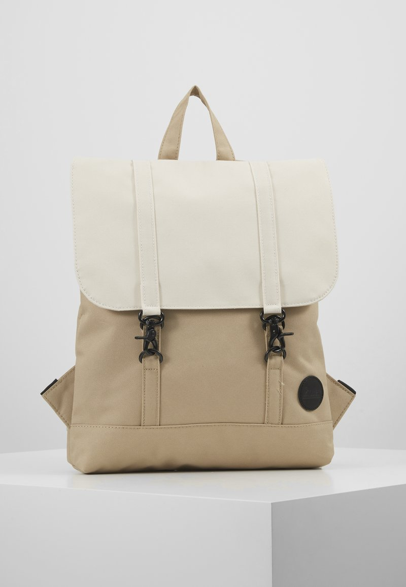 Enter - CITY BACKPACK MINI - Ryggsekk - khaki/natural