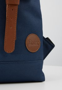 Enter - CITY BACKPACK MINI FRONT STRAPS - Tagesrucksack - navy/melange black/tan - 6