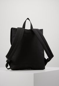 Enter - CITY BACKPACK MINI FRONT STRAPS - Reppu - black - 2