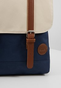 Enter - CITY BACKPACK MINI - Rygsække - navy/natural top - 6