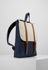 Enter - CITY BACKPACK MINI - Rygsække - navy/natural top - 3