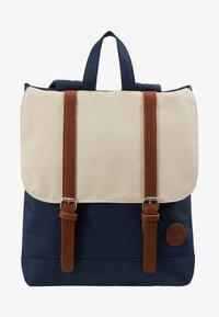 Enter - CITY BACKPACK MINI - Rygsække - navy/natural top - 5
