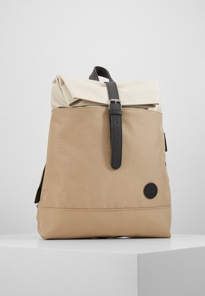 FOLD TOP BACKPACK - Rugzak - khaki/natural