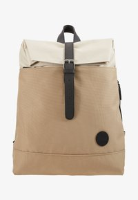 Enter - FOLD TOP BACKPACK - Rygsække - khaki/natural - 1