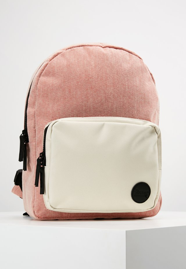 GYM BACKPACK MINI - Rucksack - melange red/natural pocket
