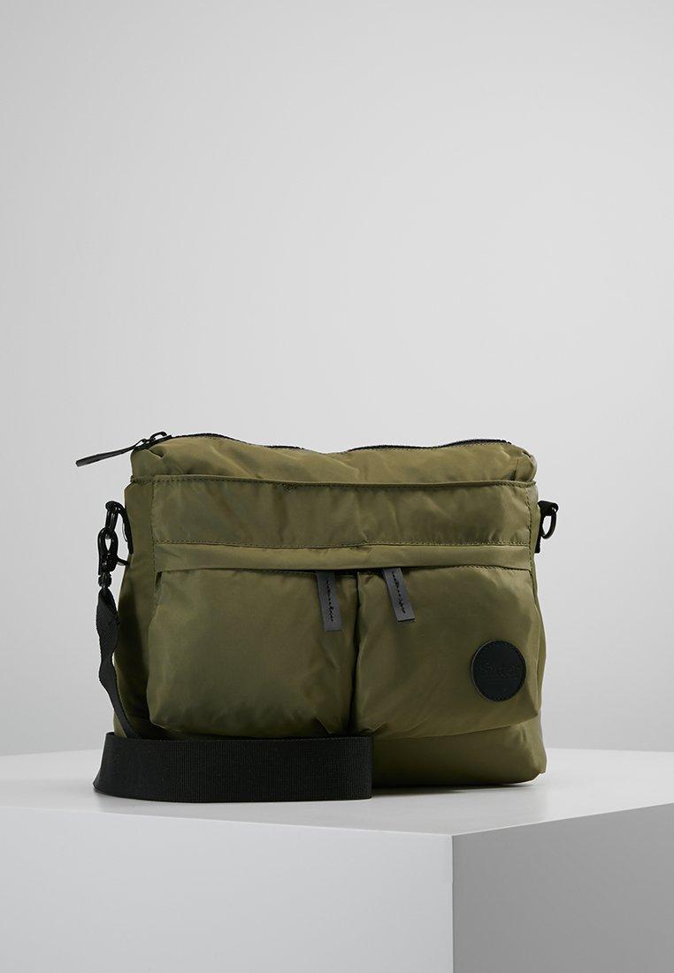 Enter - HELMET TOTE MINI - Borsa a tracolla - army green nylon