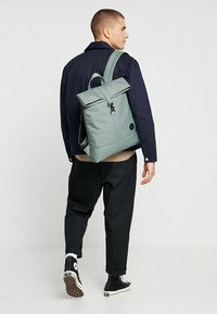 Enter - CITY FOLD TOP BACKPACK - Rygsække - melange mineral - 1