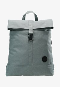 Enter - CITY FOLD TOP BACKPACK - Rygsække - melange mineral - 6