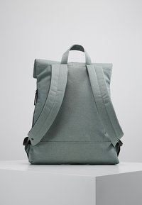 Enter - CITY FOLD TOP BACKPACK - Rygsække - melange mineral - 2