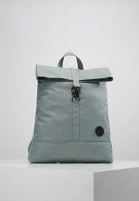 Enter - CITY FOLD TOP BACKPACK - Rygsække - melange mineral - 0