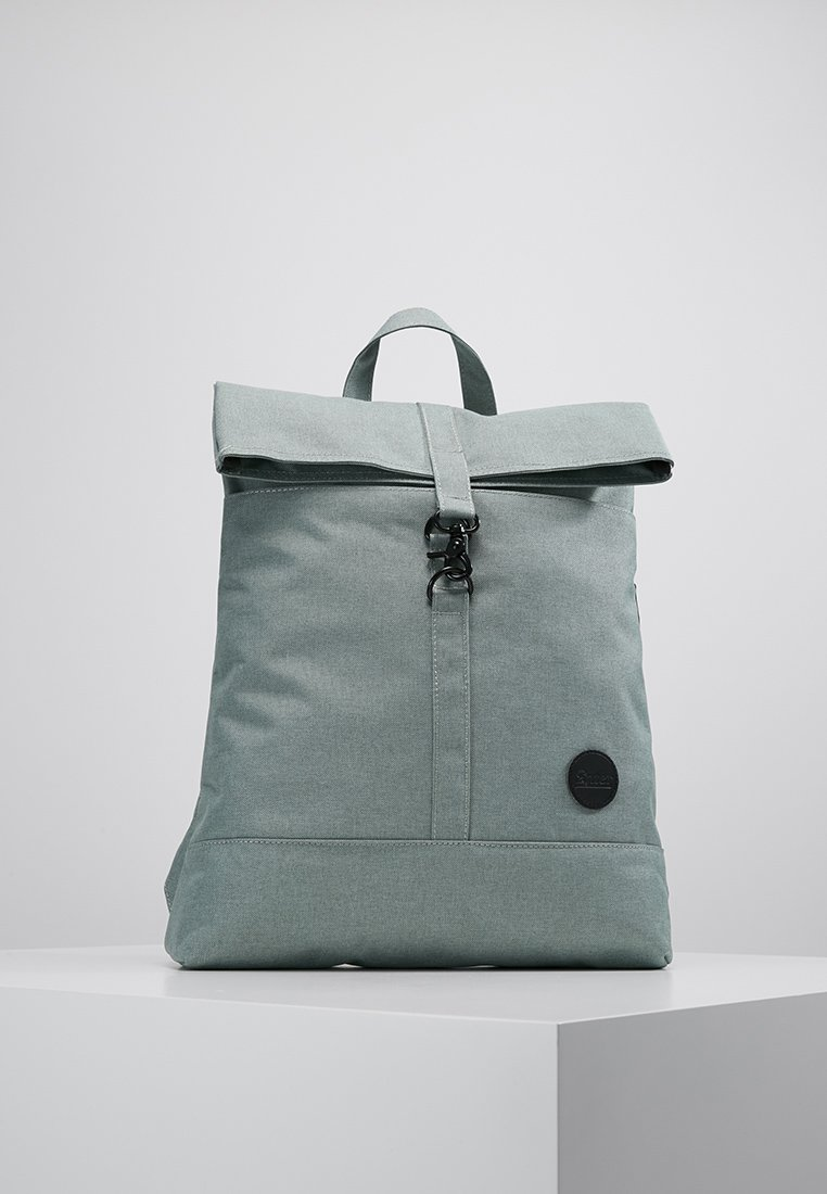 Enter - CITY FOLD TOP BACKPACK - Rygsække - melange mineral