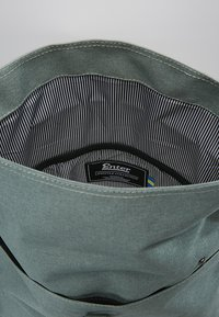 Enter - CITY FOLD TOP BACKPACK - Rygsække - melange mineral - 4