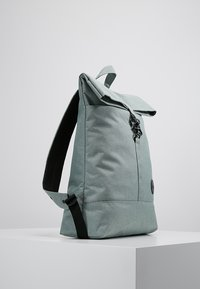 Enter - CITY FOLD TOP BACKPACK - Rygsække - melange mineral - 3
