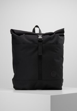 LS ROLL TOP BACKPACK - Ryggsäck - black recycled