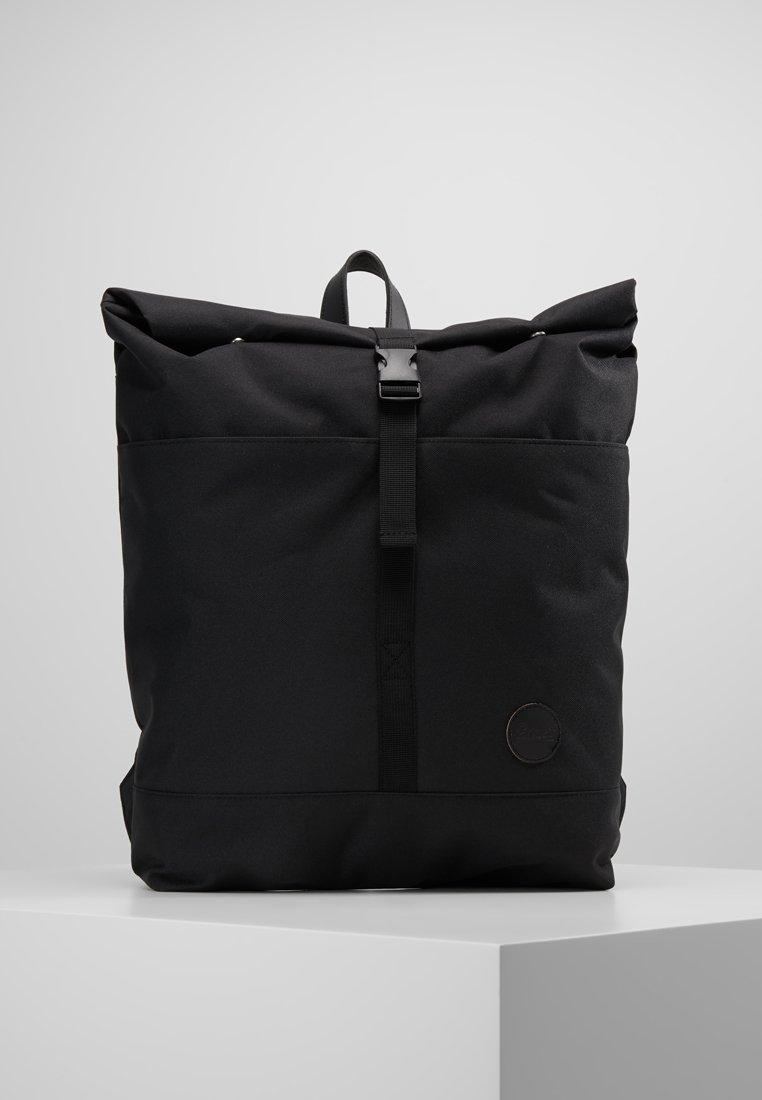 Enter - LS ROLL TOP BACKPACK - Rucksack - black recycled