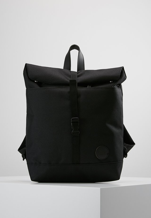 ROLL TOP BACKPACK MINI - Ryggsäck - black