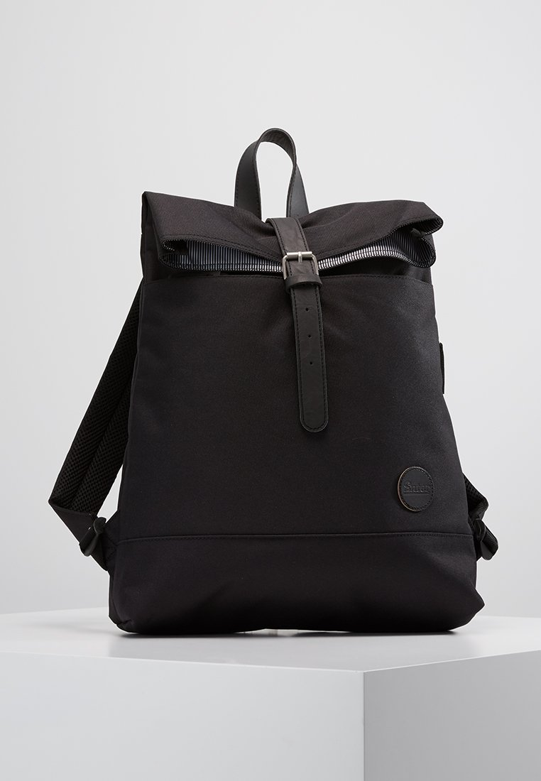 Enter - FOLD TOP - Tagesrucksack - black