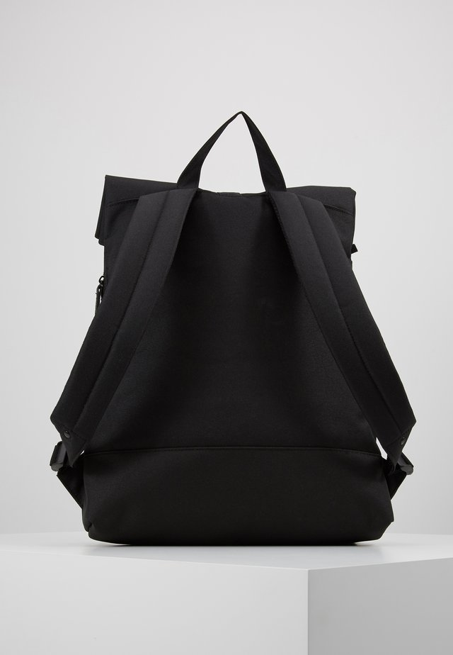 CITY FOLD TOP - Tagesrucksack - black